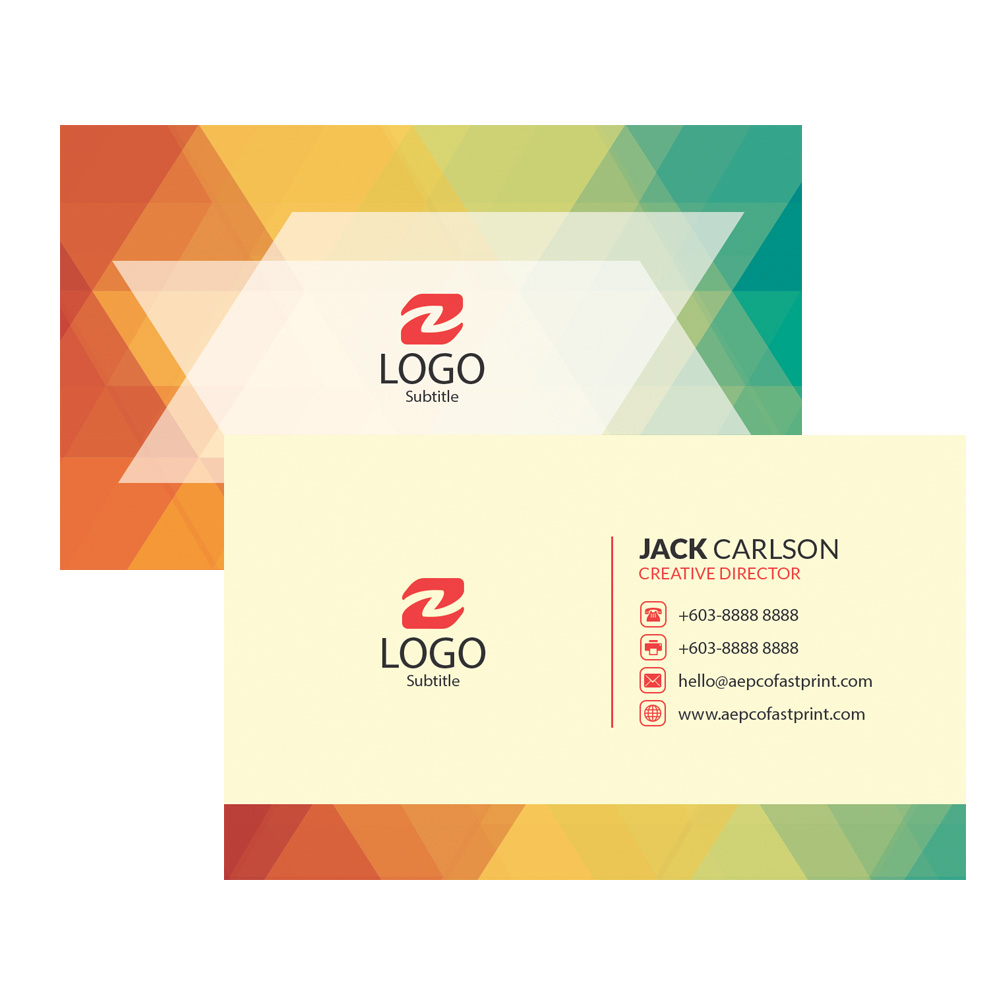 Digital Business Card Printing | | Aepco Fastprint